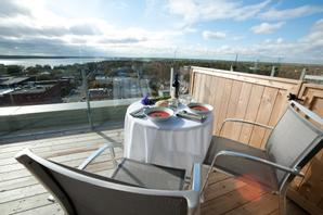 The Holman Grand Hotel | Charlottetown | Penthouse Terrace